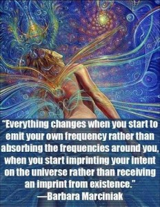 Emit Your Own Frequency HealingLight